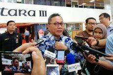 Hadiri Rakornas Gerindra, Zulkifli Bantah PAN Merapat ke Prabowo