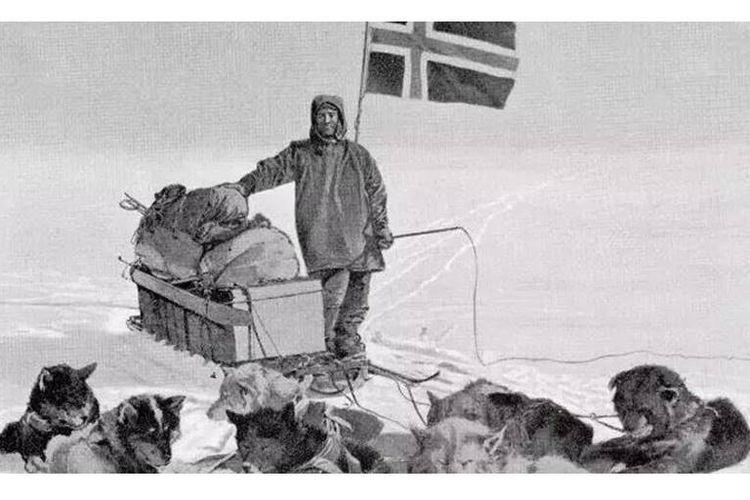 Roald Amundsen di Kutub Selatan