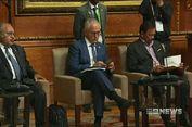 PM Australia Sibuk Main Ponsel ketika PM Inggris Sedang Berpidato