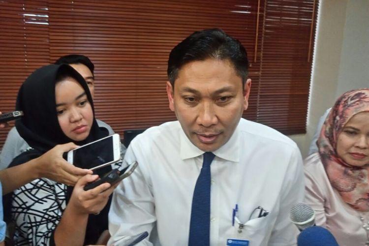 Kepala Departemen Kebijakan Sistem Pembayaran Bank Indonesia (BI) Onny Widjanarko di Jakarta, Rabu (31/1/2018).