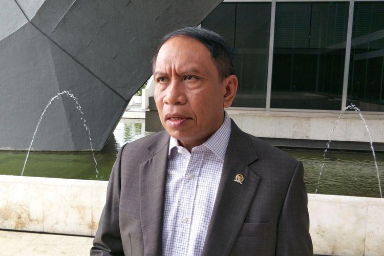 Ketua Komisi II DPR Zainudin Amali saat ditemui di Kompleks Parlemen, Senayan, Jakarta, Selasa (13/3/2018).