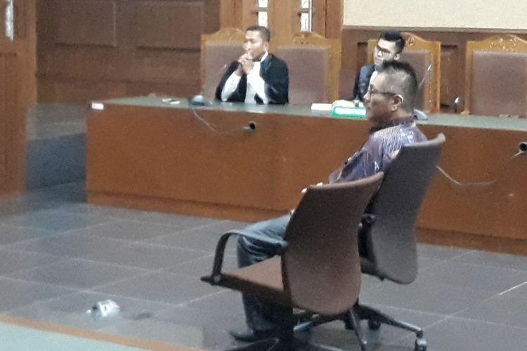 Direktur PT Menara Agung Pusaka Donny Witono dituntut 3 tahun penjara oleh jaksa Komisi Pemberantasan Korupsi (KPK) dalam sidang di Pengadilan Tipikor Jakarta, Senin (14/5/2018).