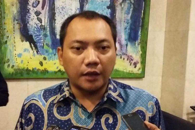 Ketua Bidang Hukum, Advokasi, dan HAM Partai Nasdem Taufik Basari, di Kantor DPP Partai Nasdem, Jakarta Pusat, Kamis (15/10/2015).