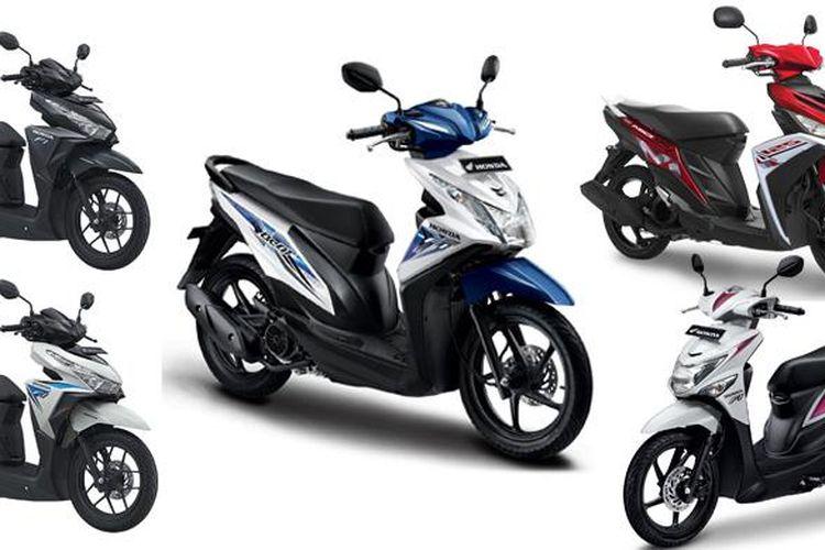 Deretan sepeda motor terlaris 2015, diborong oleh model skuter matik.