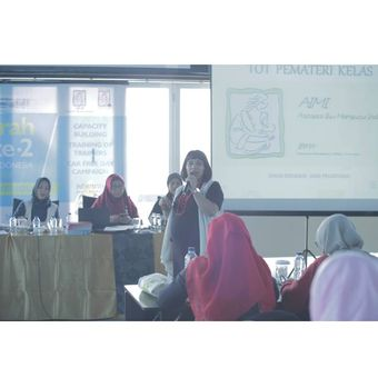 Ketua Umum Asosiasi Ibu Menyusui Indonesia Nia Umar.