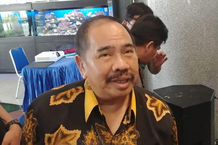 Kepala Pusat Pelaporan dan Analisis dan Transaksi Keuangan (PPATK)Kiagus Ahmad Badaruddin, Selasa (19/12/2017).