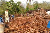 Dua Rumah di Yogyakarta Rusak akibat Angin Kencang