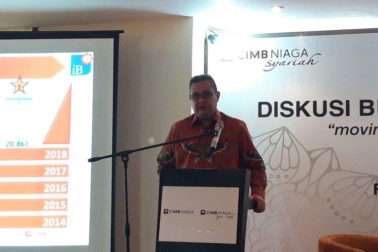 Direktur Syariah Banking CIMB Niaga Pandji P Djajanegara