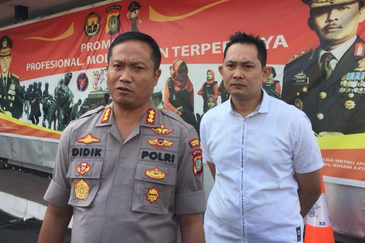 Kapolresta Depok Kombes Pol Didik Sugiarto, di Kapolresta Depok, Selasa (25/9/2018).