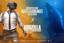 'Raja Monster' Godzilla Akan Hadir di Game PUBG Mobile