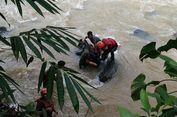 Pekerja yang Jatuh ke Sungai Terbawa Material Ambruk, Ditemukan Meninggal