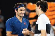 Roger Federer Berharap Bisa Kembali ke Roma Tahun Depan