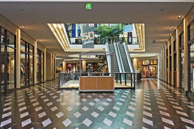 Ilustrasi pusat perbelanjaan