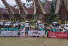 Fortuner Digeber Komunitas Jelajah Sulawesi