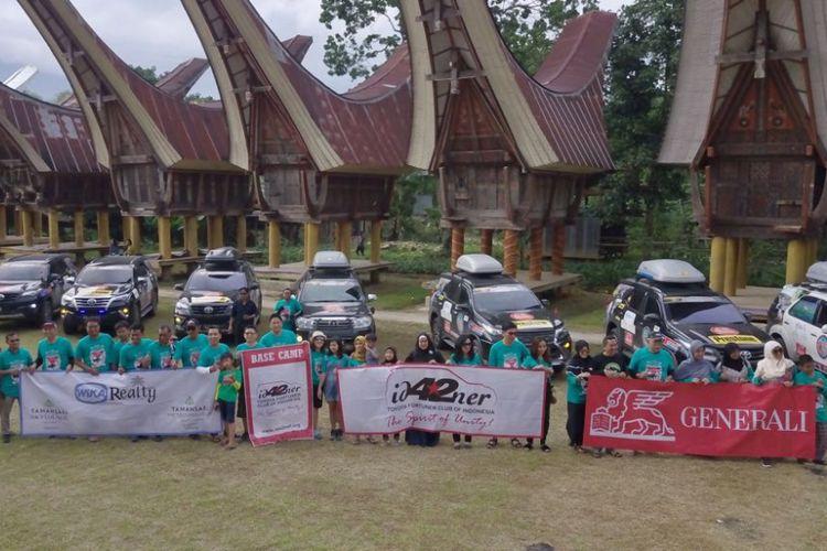 Touring Fortuner jelajah Sulawesi.