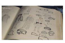 Buku Sketsa Kostum