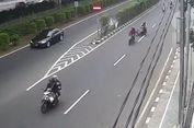 Polisi Kantongi Identitas Penjambret yang Terekam CCTV di Cempaka Putih