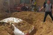 Takut Ditangkap, Pelaku Tabrak Lari di China Kubur Mobilnya