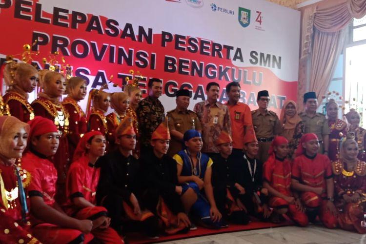 Sebanyak 23 siswa asal Bengkulu dikirim ke NTB dalam program Siswa Mengenal Nusantara.