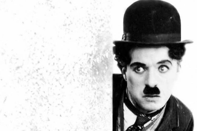 Tokoh Tramp yang diperankan Charlie Chaplin
