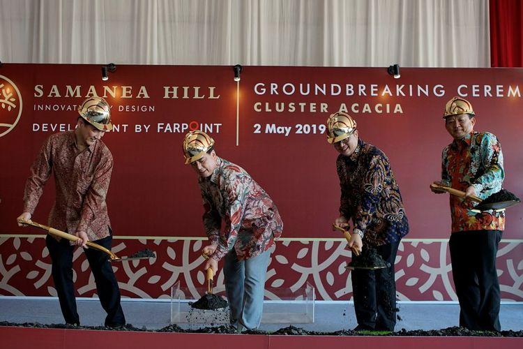 Farpoint melaksanakan groundbreaking Samanea Hill - Cluster Acacia