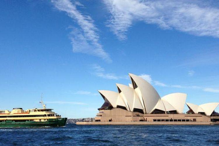 Opera House di Sydney, Australia.