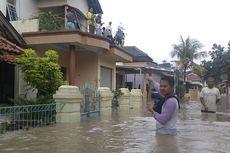 Sungai Pemali di Brebes Meluap, 3 Kecamatan Terendam Banjir