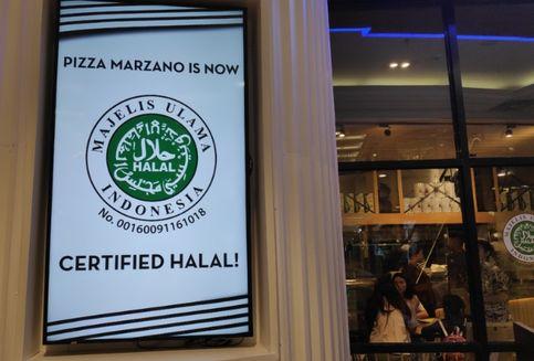 12 Tahun Buka, Pizza Marzano Dapat Sertifikat Halal