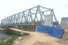 Menanti 3 Tahun, Warga Berharap Jembatan Sungai Rambutan Cepat Selesai
