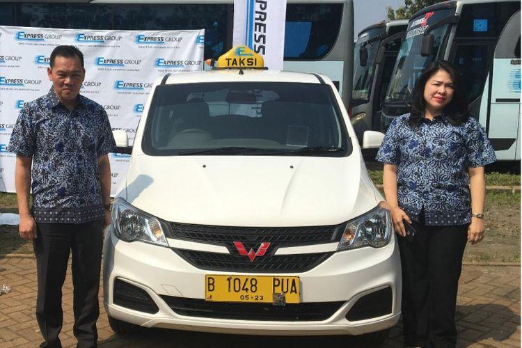 Taksi Express tingkatkan layanan dengan mengganti armadanya dengan MPV Wuling Confero
