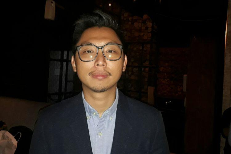 Lucky Luswandi dijumpai di Kaffeine, The Foundry No. 8, SCBD, Jakarta Selatan, Selasa (8/8/2017).
