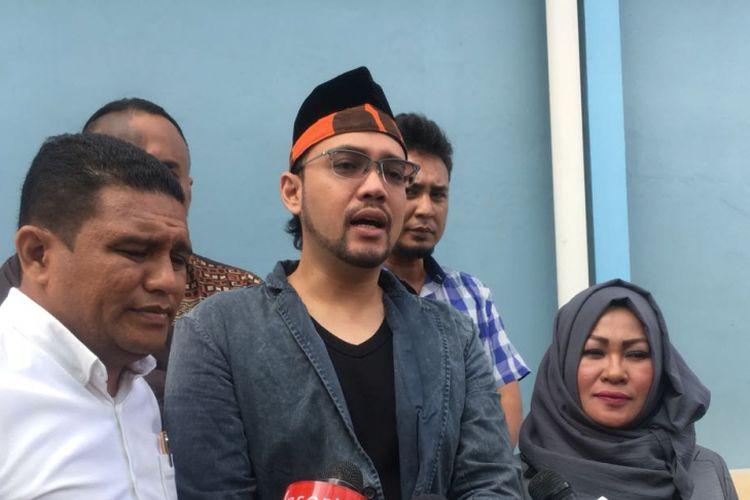Sandy Tumiwa saat ditemui di kawasan Tendean, Jakarta Selatan, Jumat (18/5/2018).