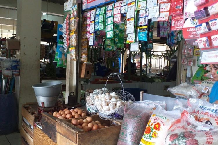 Pasar Manggis Setiabudi Jakarta, Kamis (27/12/2018)