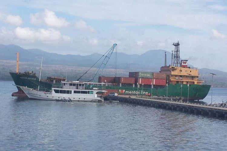 Pelabuhan Bima di Nusa Tenggara Barat (NTB)