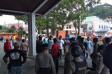 Tuntut Pembayaran Tanah Kantor Pos, Massa Bentrok dengan Polisi di Jayapura