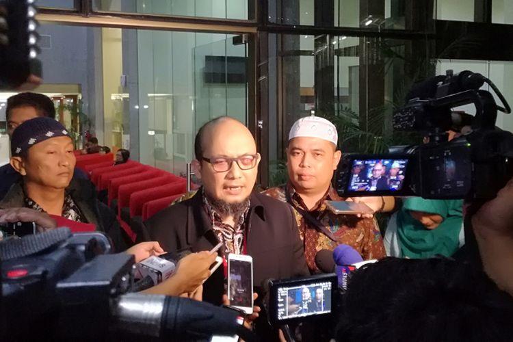 Penyidik Senior Komisi Pemberantasan Korupsi (KPK) Novel Baswedan di gedung KPK, Kamis (3/5/2018) malam.