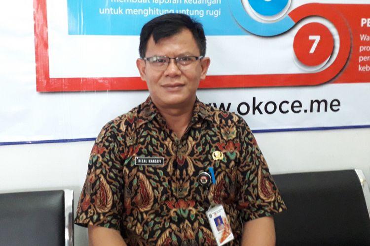 Kasudin UMKM Jakarta Timur Rizal Khadafi setelah pelatihan OK OCE di Kecamatan Ciracas, Kamis (6/9/2018)