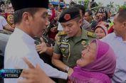 Video Momen 30 Detik Saat Jokowi Dipeluk Erat Seorang Nenek
