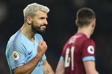 Brighton Vs Man City, Aguero Selalu Cetak Gol ke Gawang Brighton
