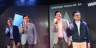 Smartphone 'Dual-Camera' Selfie Pertama Samsung Resmi Masuk Indonesia