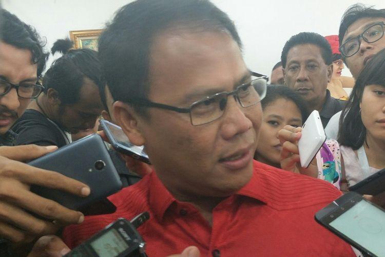 Wakil Sekjen PDI-P Ahmad Basarah di kantor DPP PDI-P, Selasa (9/1/2018).