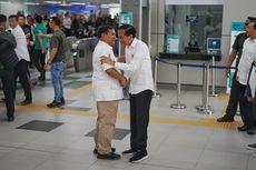 Pertemuan Jokowi-Prabowo di Stasiun MRT yang Sarat Makna...