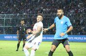 Striker Asing Arema FC Robert Lima Tampil Buruk dalam Piala Presiden