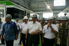 Buat 31 Trainset LRT Jabodebek, PT Inka Targetkan 15 Bulan