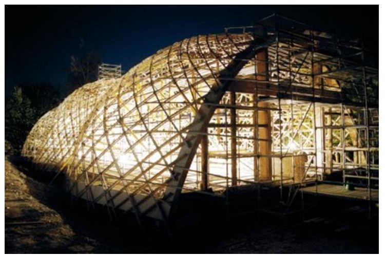 Struktur Bangunan Gridshell