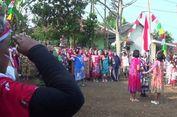 Ibu-ibu di Bogor Upacara HUT RI Berdaster dan Bawa Panci