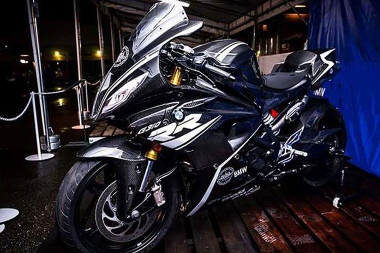 Konsep BMW G310RR di BMW Motorrad Day Jepang