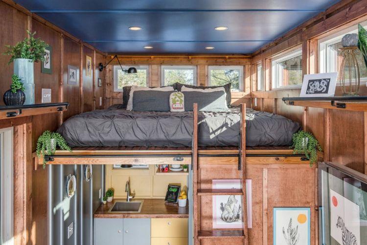 Rumah minimalis yang mengoptimalkan setiap sudut ruangan.