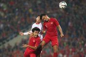 Timnas U-23 Indonesia Vs Vietnam, Laga Alot Tanpa Gol di Babak I