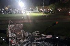 Helikopter Berisi Pengantin Jatuh, Pesta Pernikahan Jalan Terus